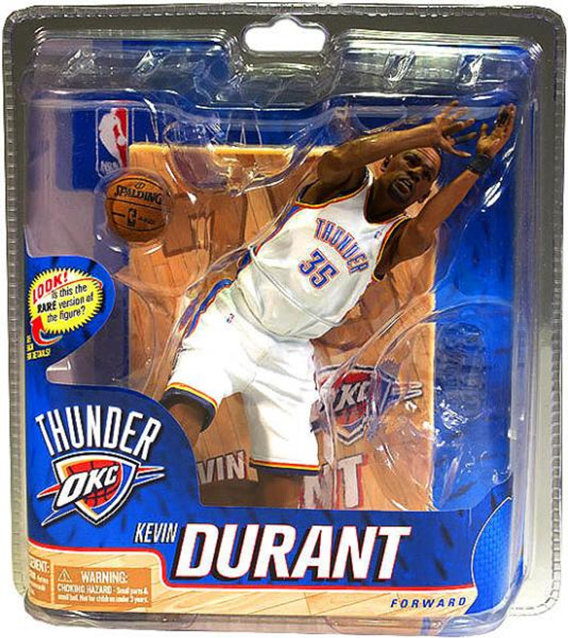 90e97bf091f6 McFarlane Toys NBA Oklahoma City Thunder Sports Picks Series 20 Kevin  Durant Action Figure  White
