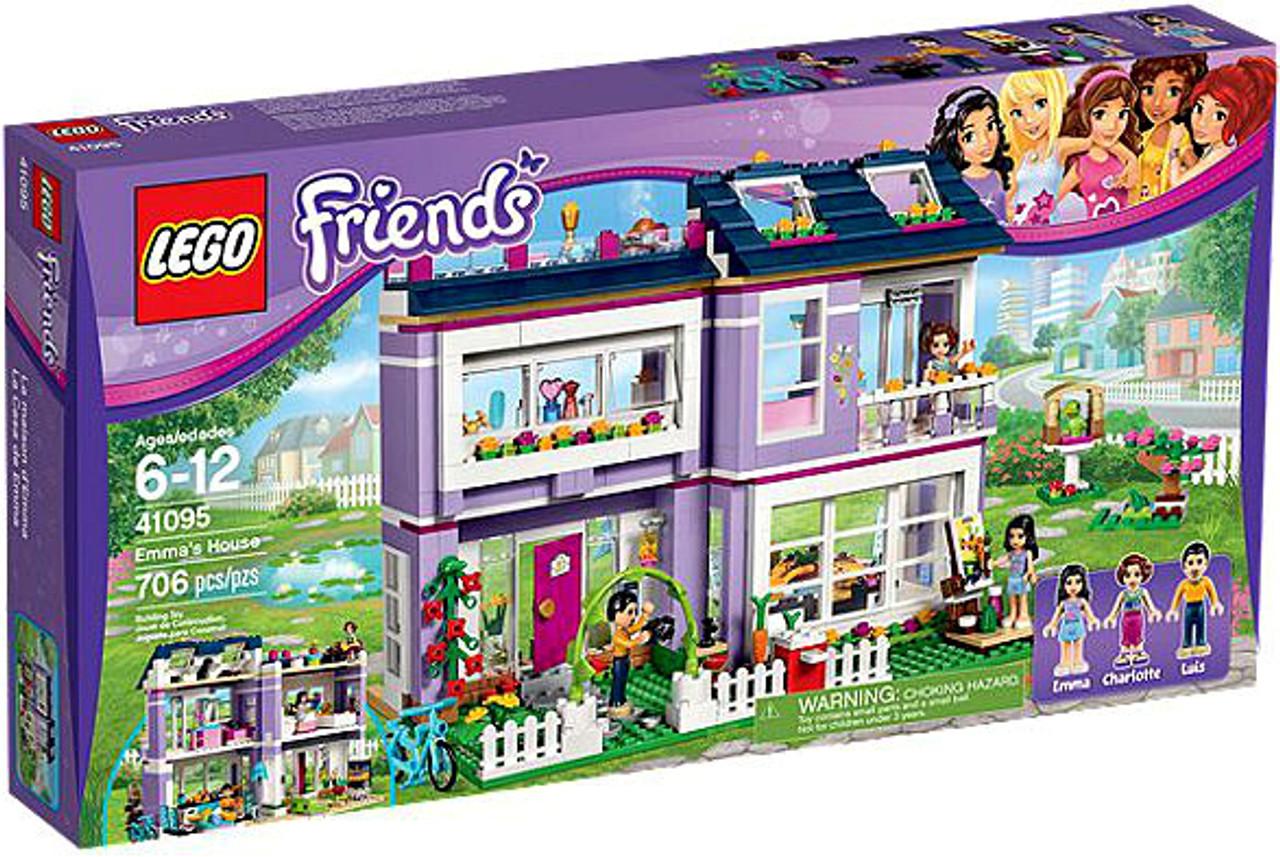 LEGO Friends Emmas House Set 41095 - ToyWiz