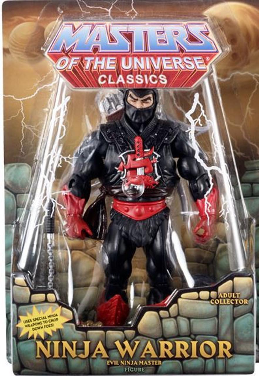 Masters Of The Universe Classics Ninja Warrior Action Figure Evil Ninja Master Mattel Toys Toywiz