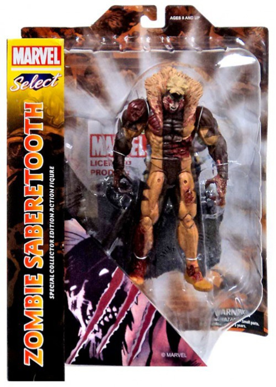 Marvel Select 8 Inch Figure Exclusive First Appearance Sabretooth