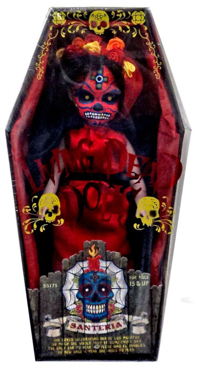 Living Dead Dolls Days of the Dead Series 20 Santeria Doll [Crimson Variant]