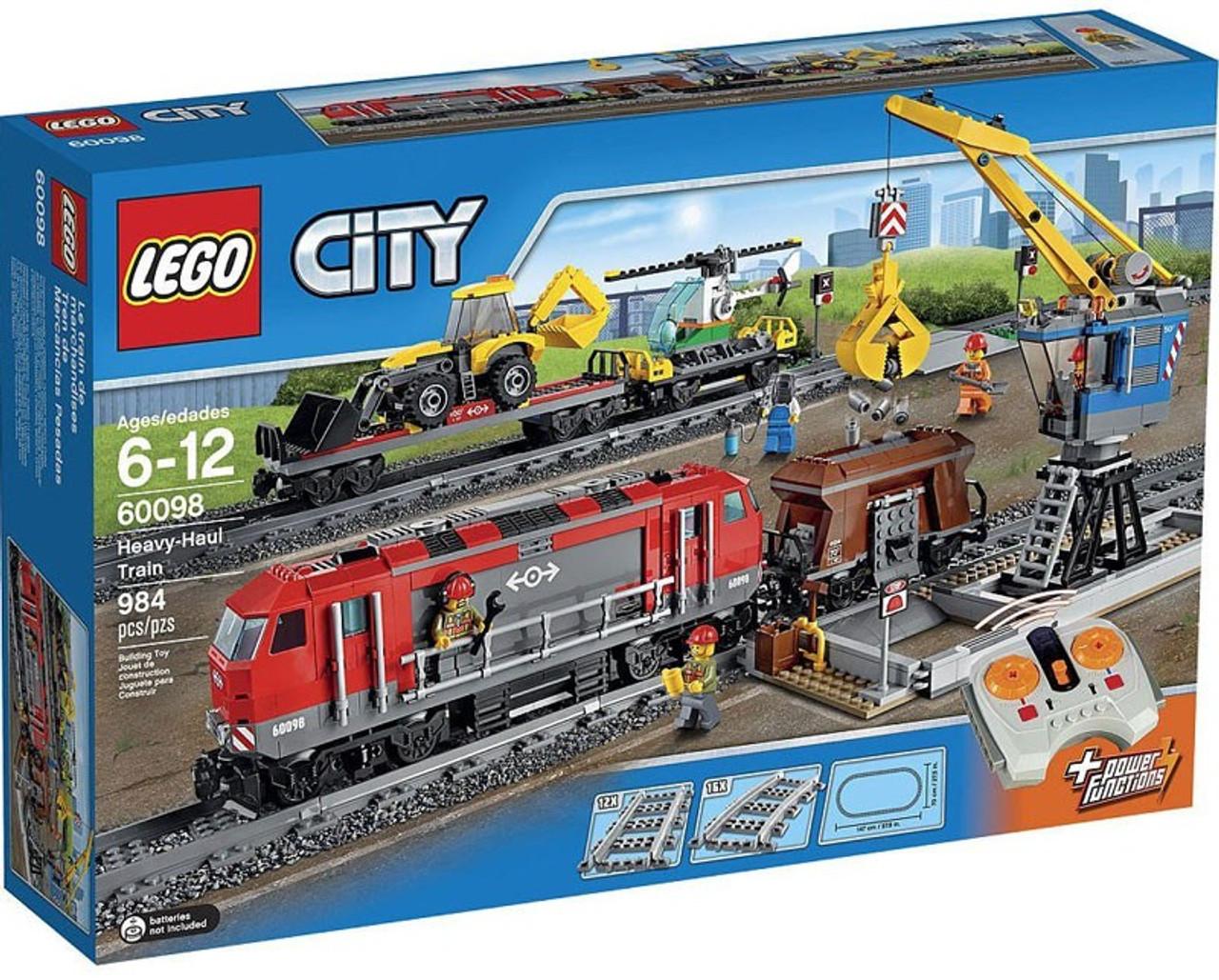 LEGO City Heavy-Haul Train Set 60098 - ToyWiz