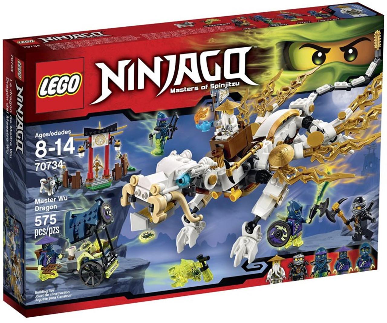 LEGO Ninjago Master Wu Dragon Set 70734 - ToyWiz