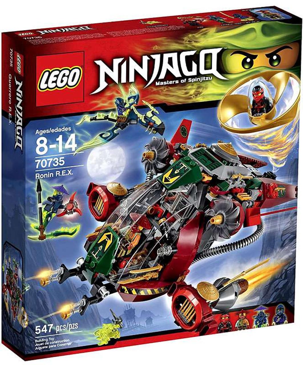 Ninjago R Lego Ronin xSet70735 e srdhtQ