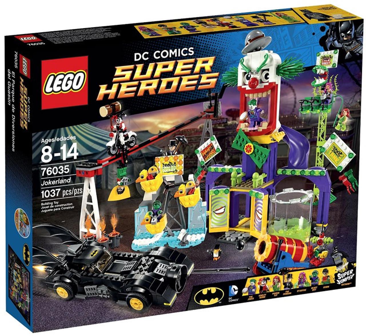 Lego Dc Super Heroes Jokerland Set 76035 Toywiz