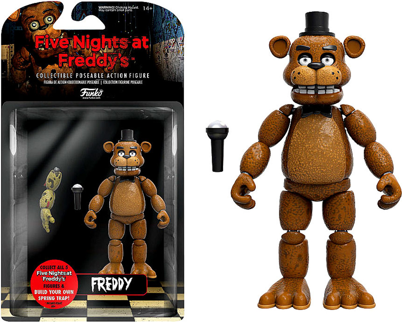 Funko Five Nights At Freddys Series 1 Freddy Action Figure Build Spring Trap Part Toywiz