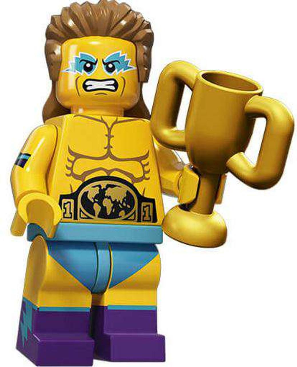 NEW LEGO Mini figure Wrestler Minifigures Series 15