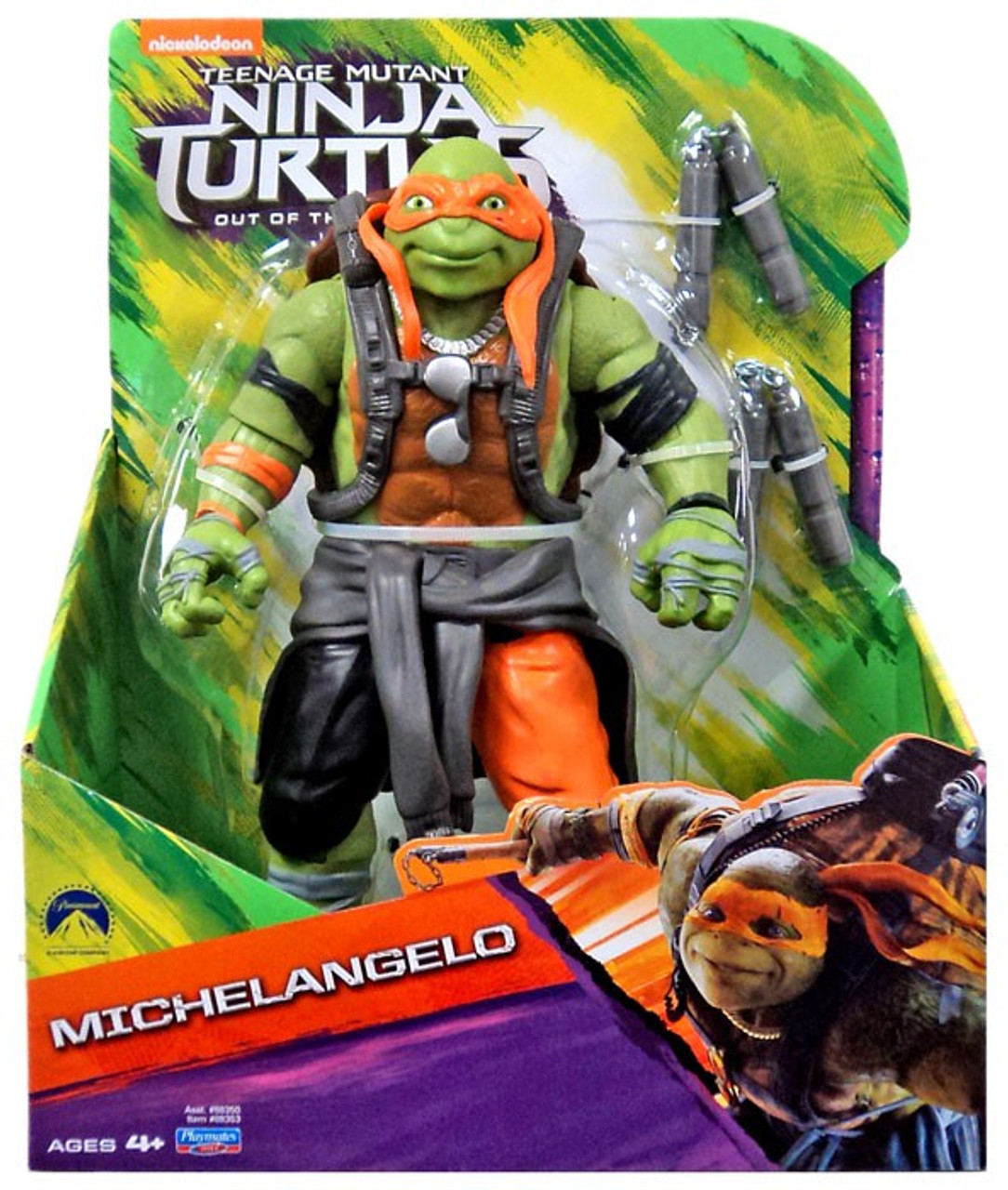 Teenage Mutant Ninja Turtles Out Of The Shadows Michelangelo Action Figure 11 Inch