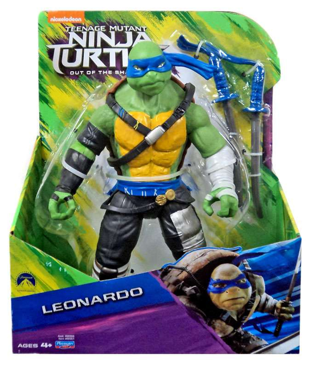 Out of the Shadows Michelangelo Action Figure 11 Inch