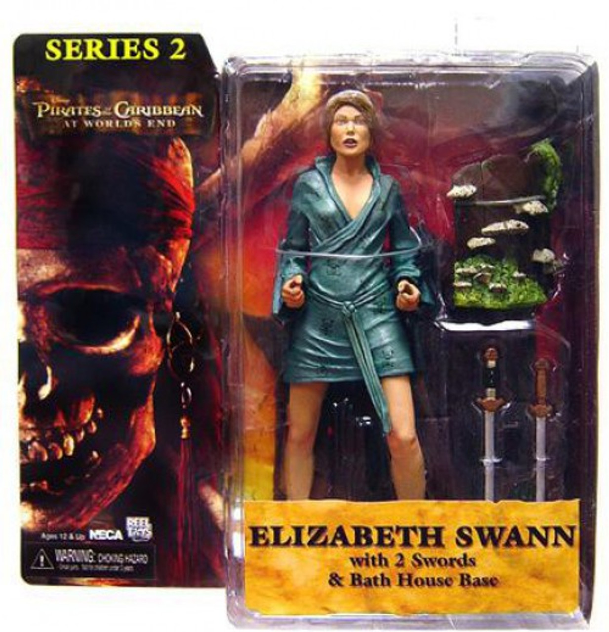 Details about  /Neca Pirates of the Caribbean Elizabeth Swann Series 3 Collectible Action Figure