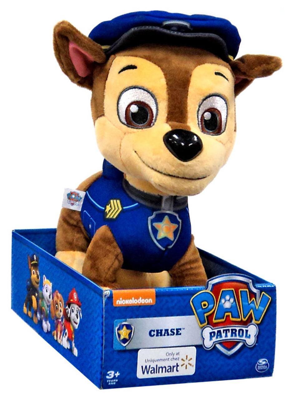 Paw Patrol Chase 10 Plush Spin Master Toywiz