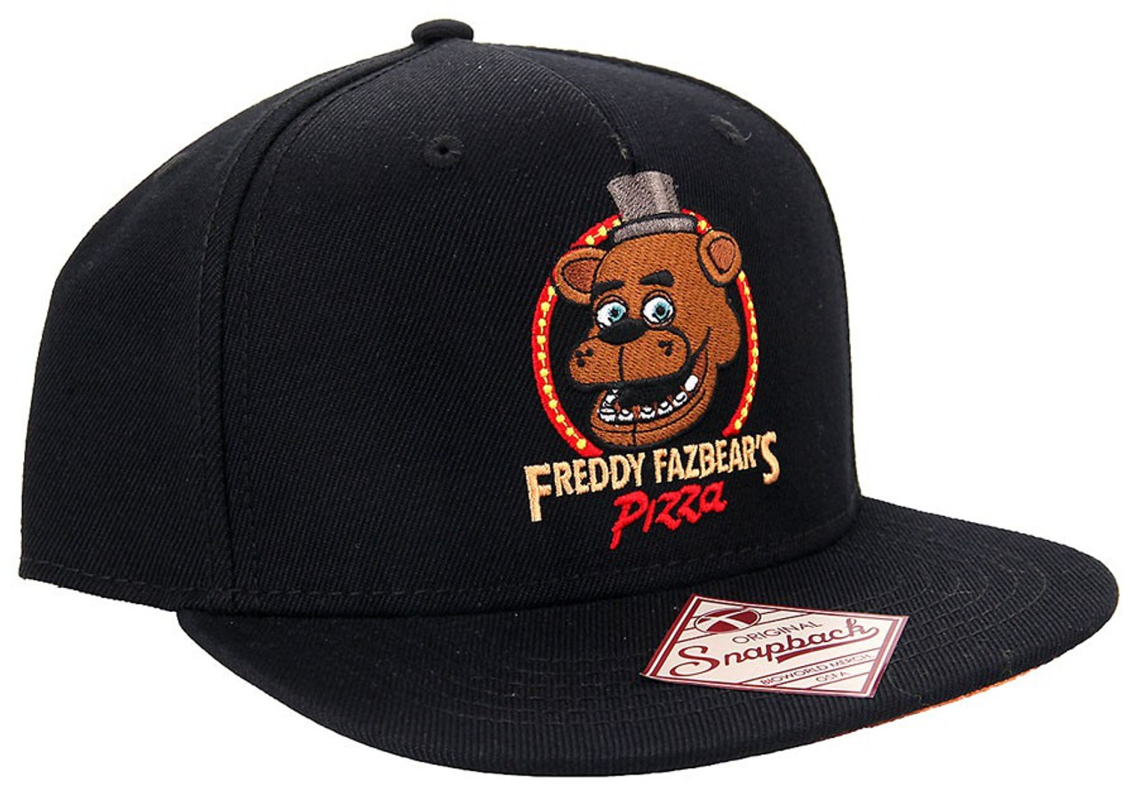 FIVE NIGHTS AT FREDDY/'S FREDDY FAZBEAR'S PIZZA SNAPBACK BASEBALL CAP