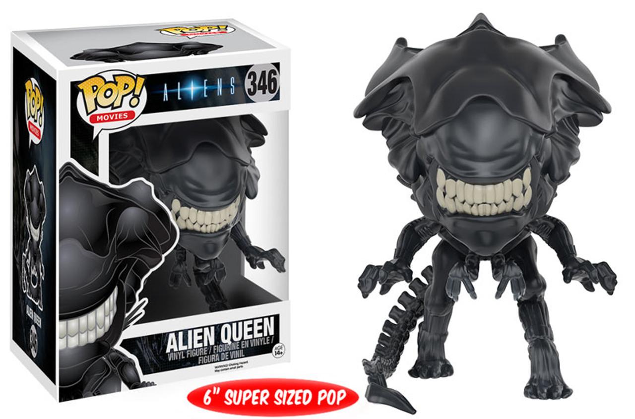 Aliens Funko POP! Movies Alien Queen 6-Inch Vinyl Figure #346 [Super-Sized]