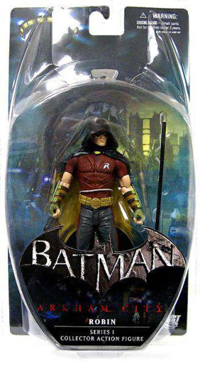 Batman Arkham City Series 3 Ra/'s al Ghul 7in Action Figure DC Direct Toys knight