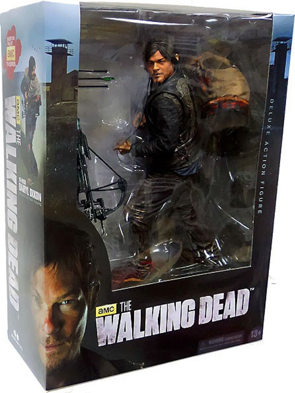 McFarlane Toys The Walking Dead AMC TV Daryl Dixon Deluxe Action Figure  [Damaged Package]