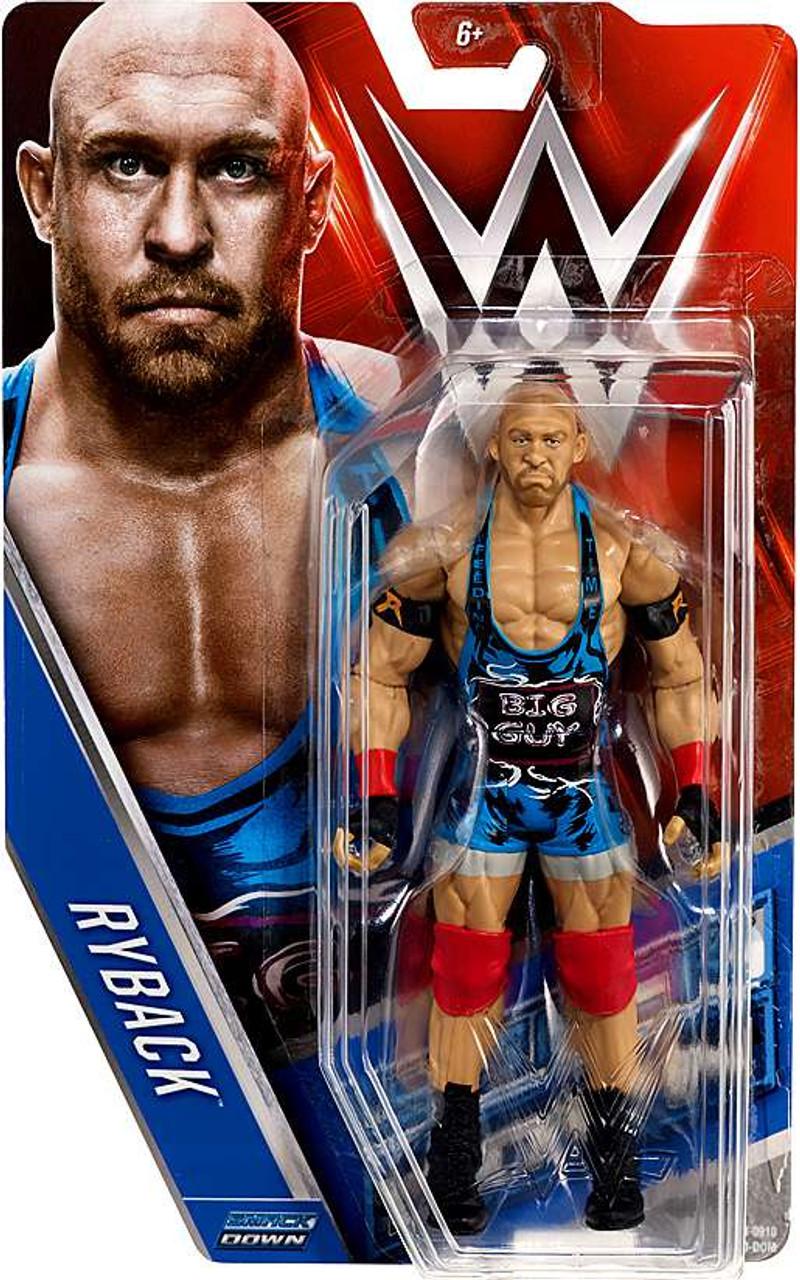 Ryback WWE Mattel Wrestling Figure Basic Series 27