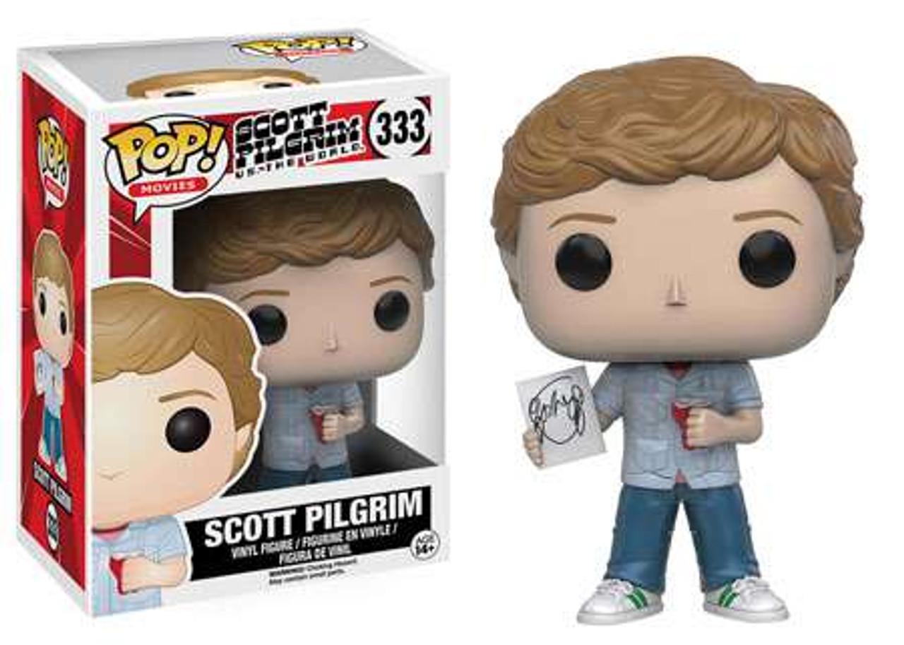 Movies #333 Scott Pilgrim POP Scott Pilgrim Vinyl Figure Funko