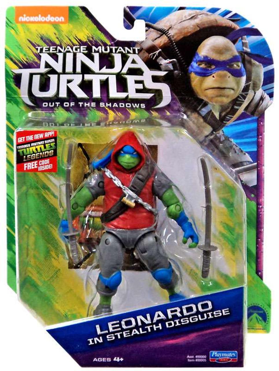 Teenage Mutant Ninja Turtles Out Of The Shadows Leonardo In