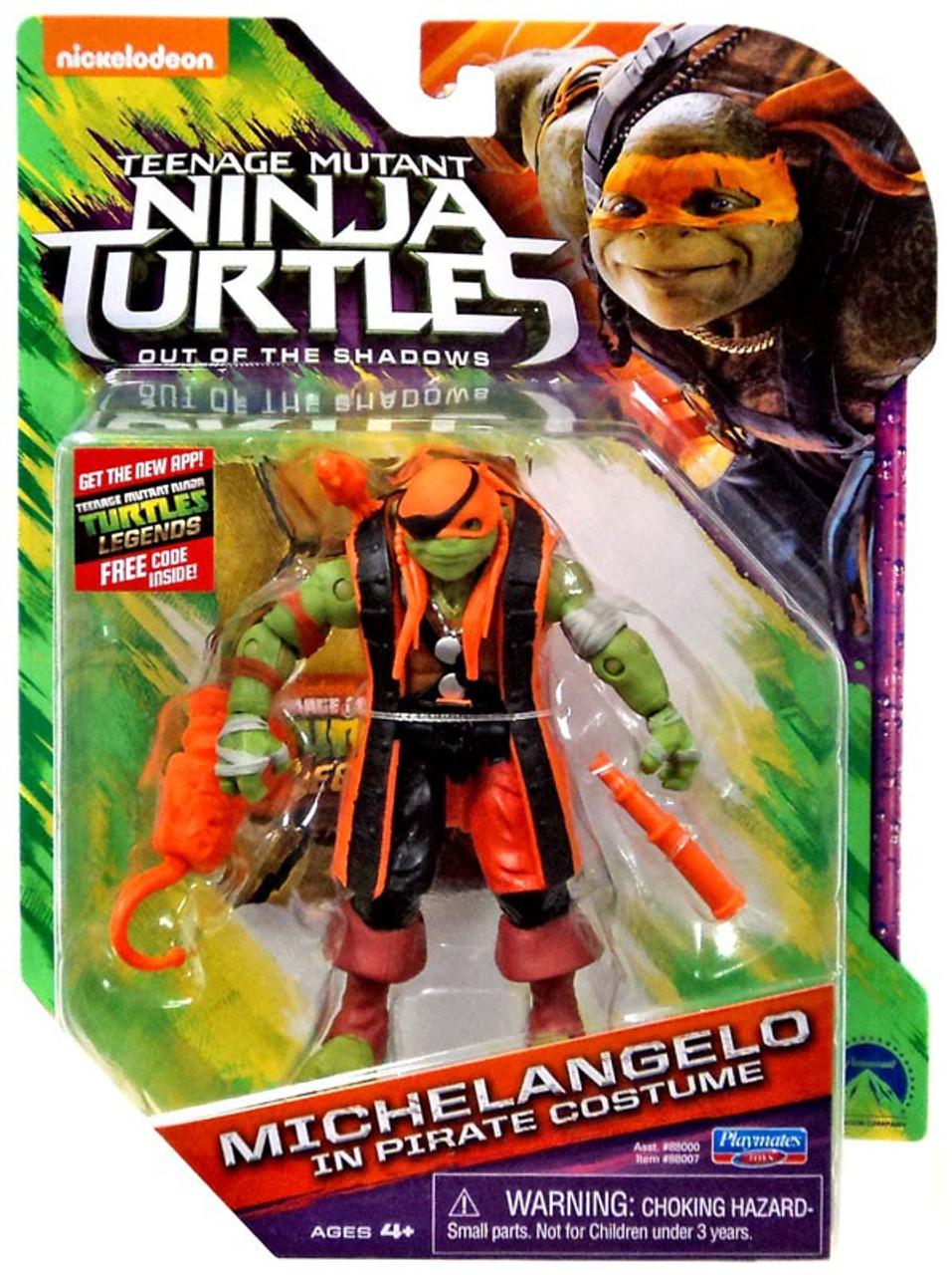 Teenage Mutant Ninja Turtles Out Of The Shadows Michelangelo In