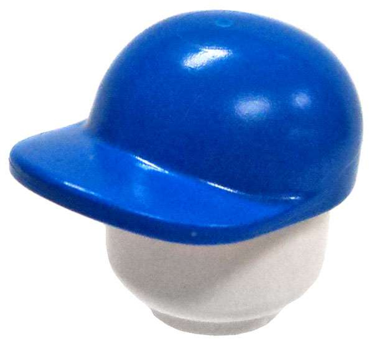 20222365741 LEGO LEGO Minifigure Parts Blue Curved Baseball Cap Loose - ToyWiz