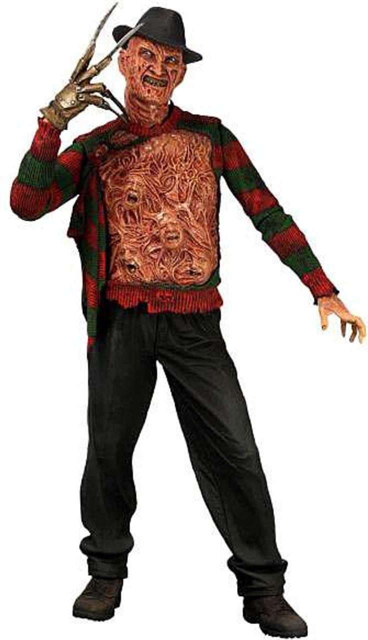 "7/"" Nightmare On Elm Street Freddy Krueger Ultimate Dream Warriors Action Figure"