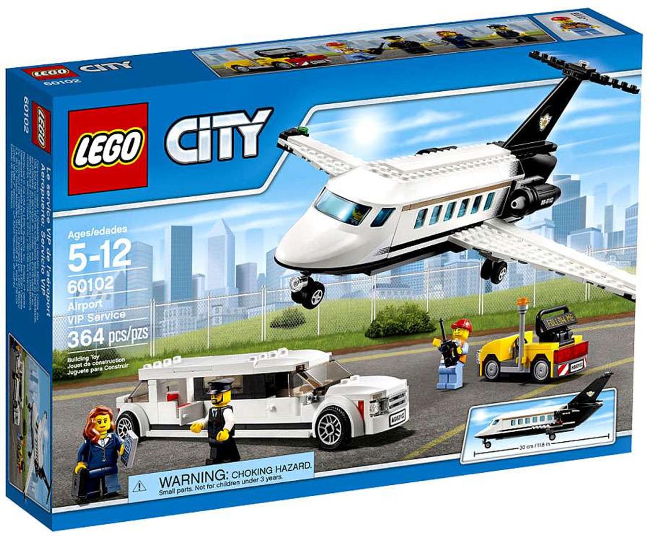 LEGO City Airport VIP Service Set 60102 - ToyWiz