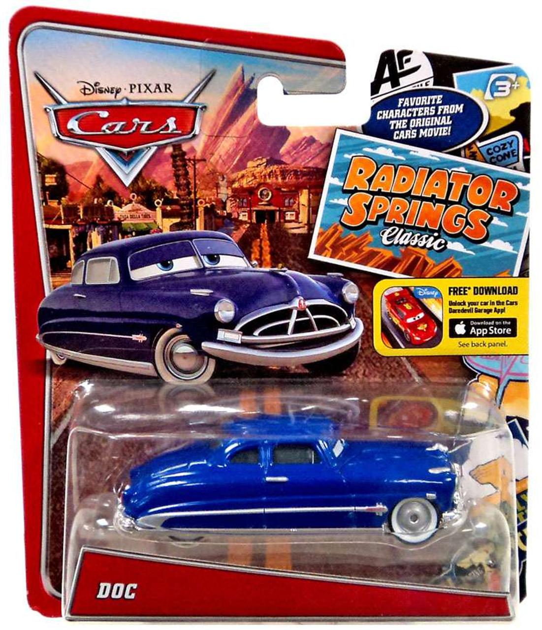 2019 Disney Pixar Cars Radiator Springs Doc Hudson Diecast Car