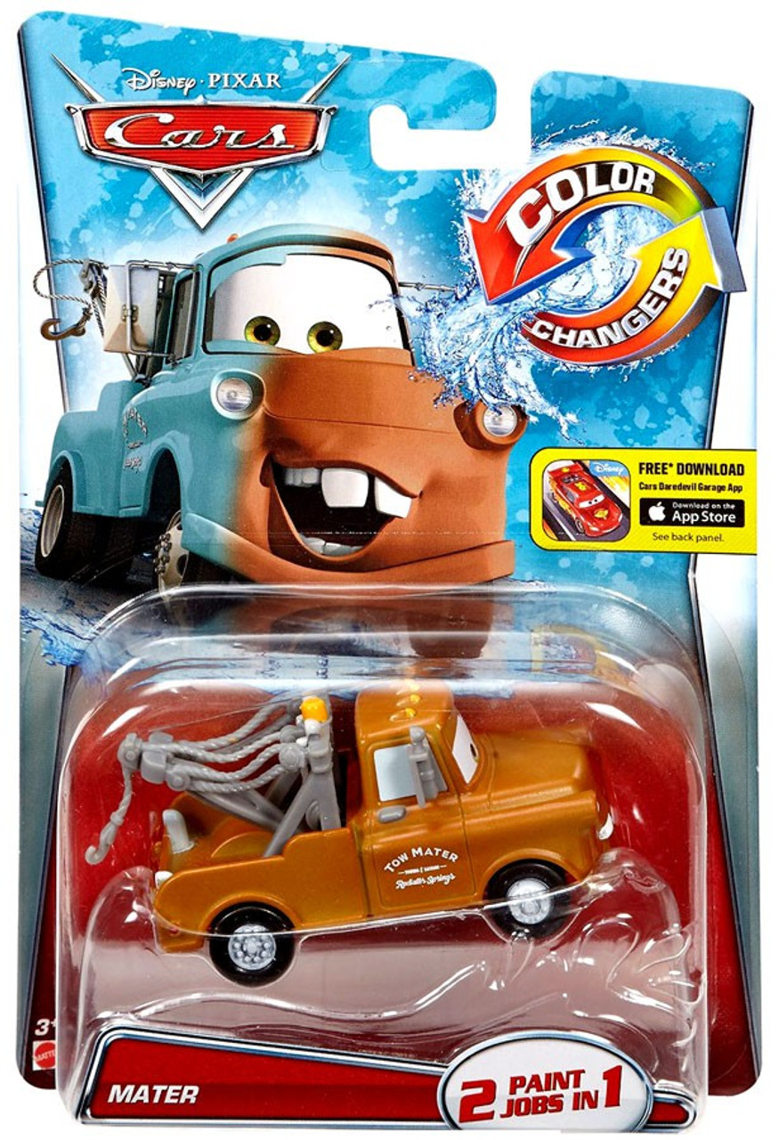 Disney Pixar Cars Color Changers Mater Brown 155 Diecast Car Mattel Toys Toywiz