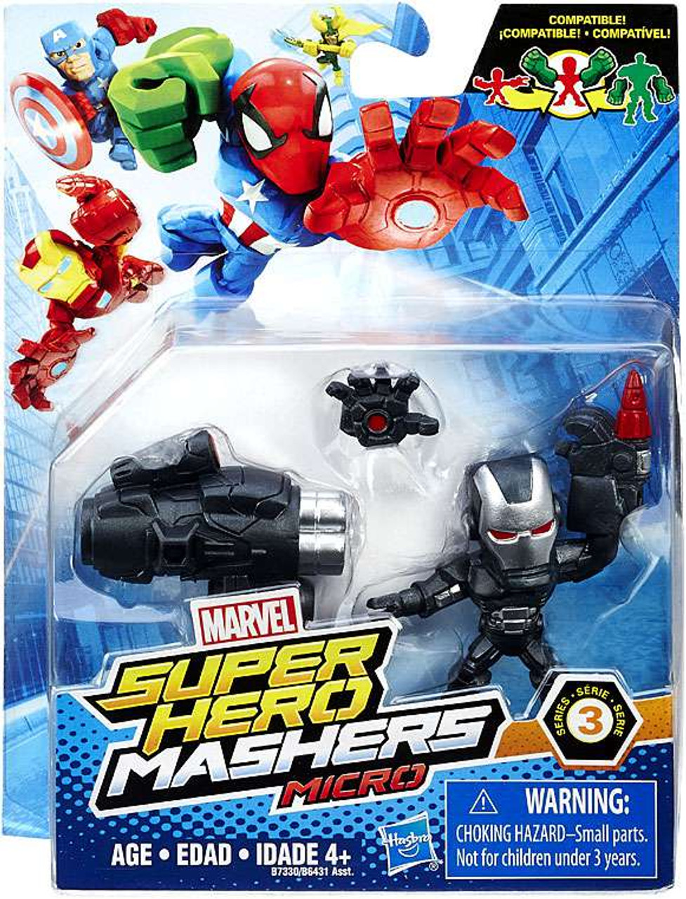 Marvel Super Hero Mashers Micro Series 1 Iron Patriot 2-Inch Mini Figure