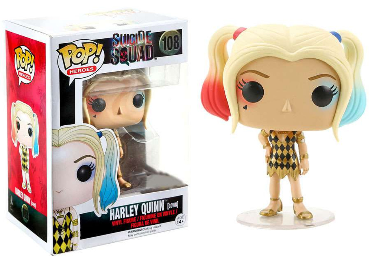 Funko Pop Vynil Heroes Dr Harleen HARLEY QUINN SUICIDE SQUAD