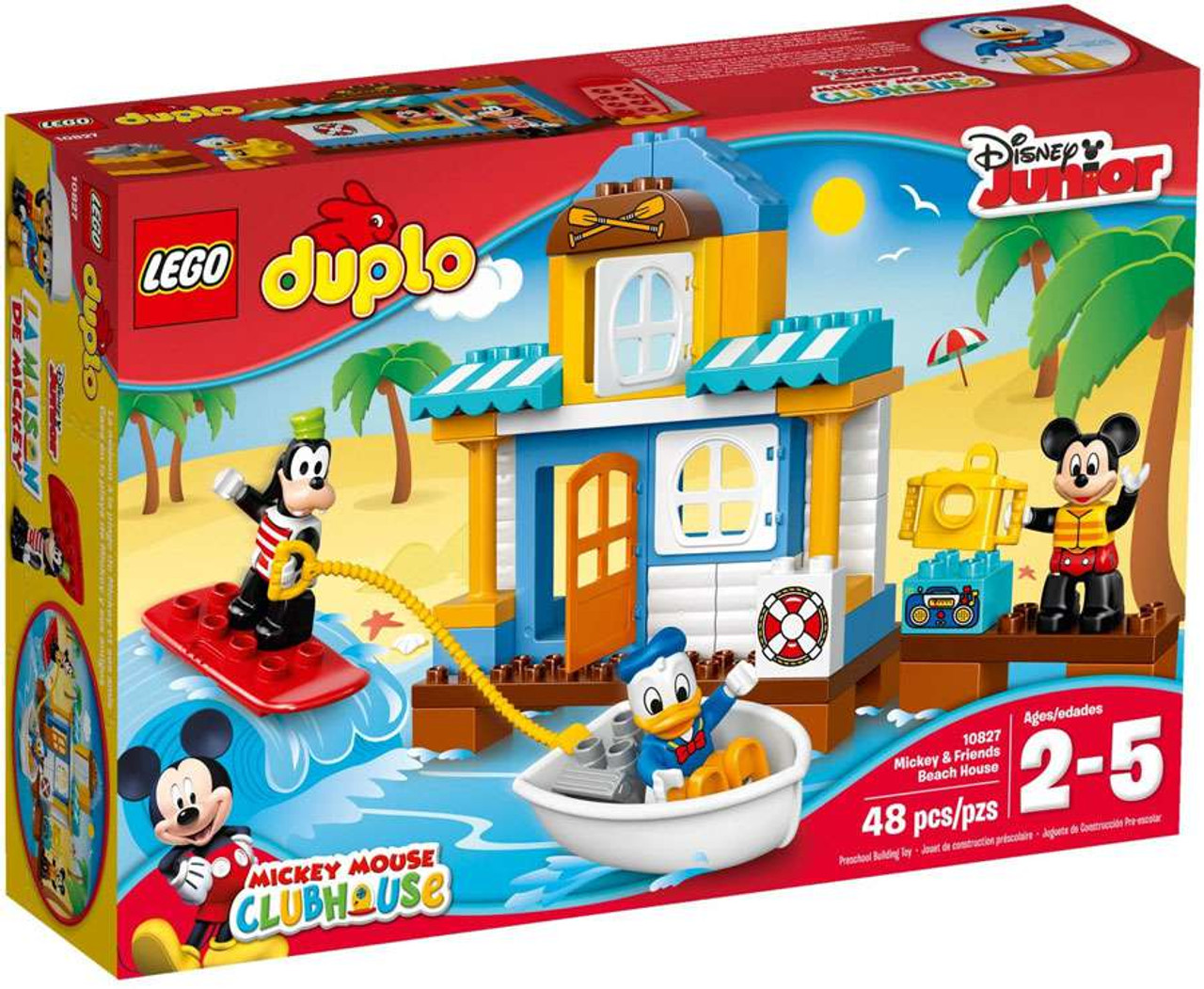 LEGO Disney Duplo Mickey Mouse Club Mickey Friends Beach