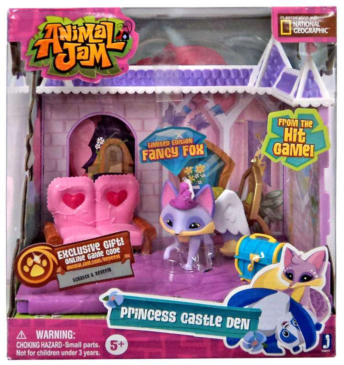 Animal Jam Princess Castle Den Playset Limited Edition ...