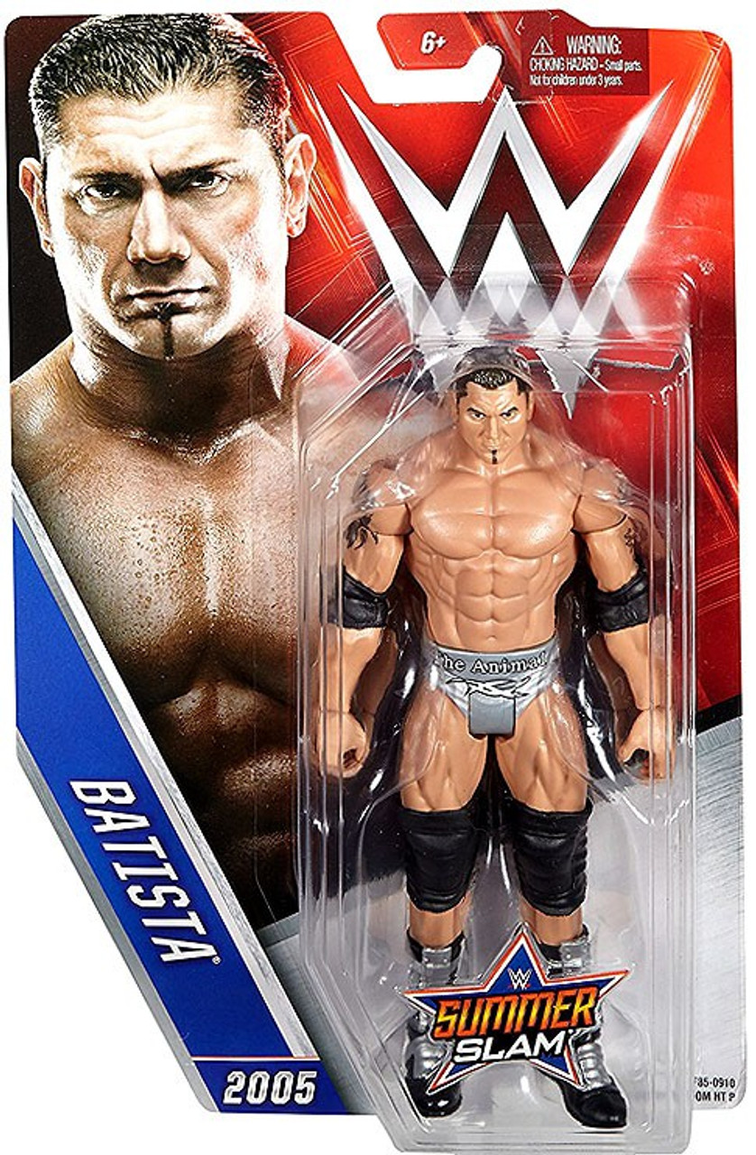 WWE BATISTA MATTEL BASIC SERIES SUMMERSLAM WRESTLING FIGURE