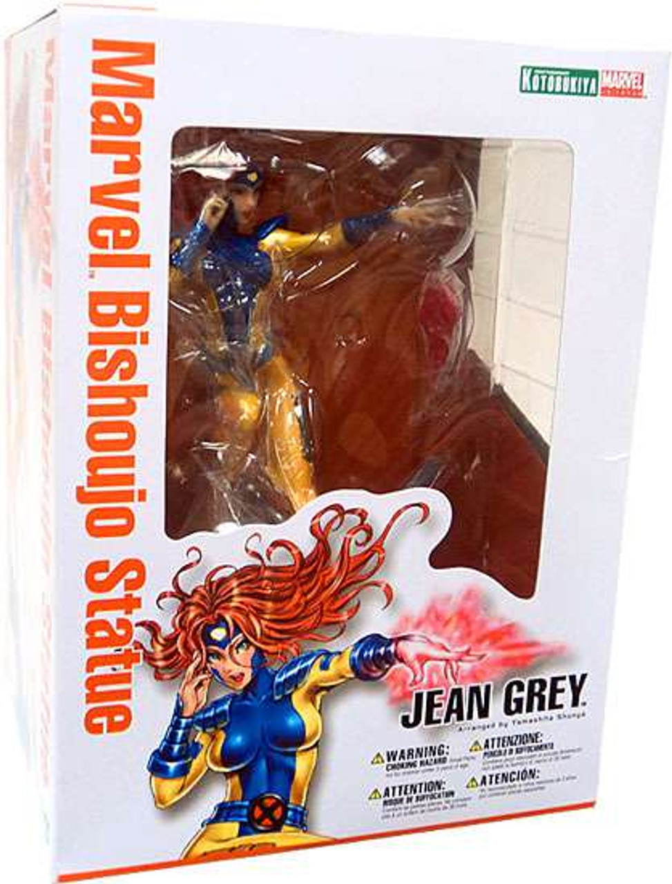 Action- & Spielfiguren Marvel Kotobukiya Bishoujo Statue Jean Grey X-Men Action Figure