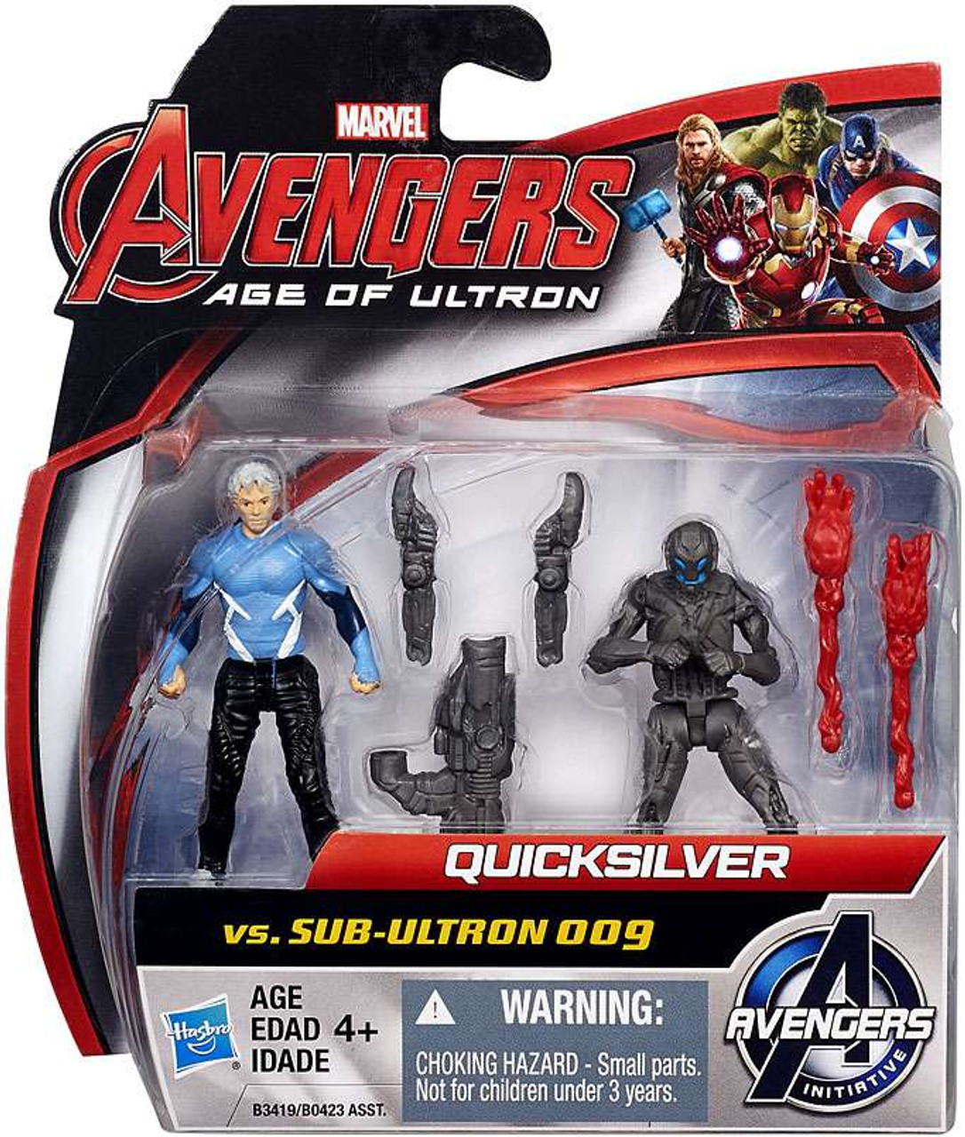 CHOOSE YOUR MARVEL AVENGERS AGE OF ULTRON HULK THOR 2.5' ACTION TOY FIGURE