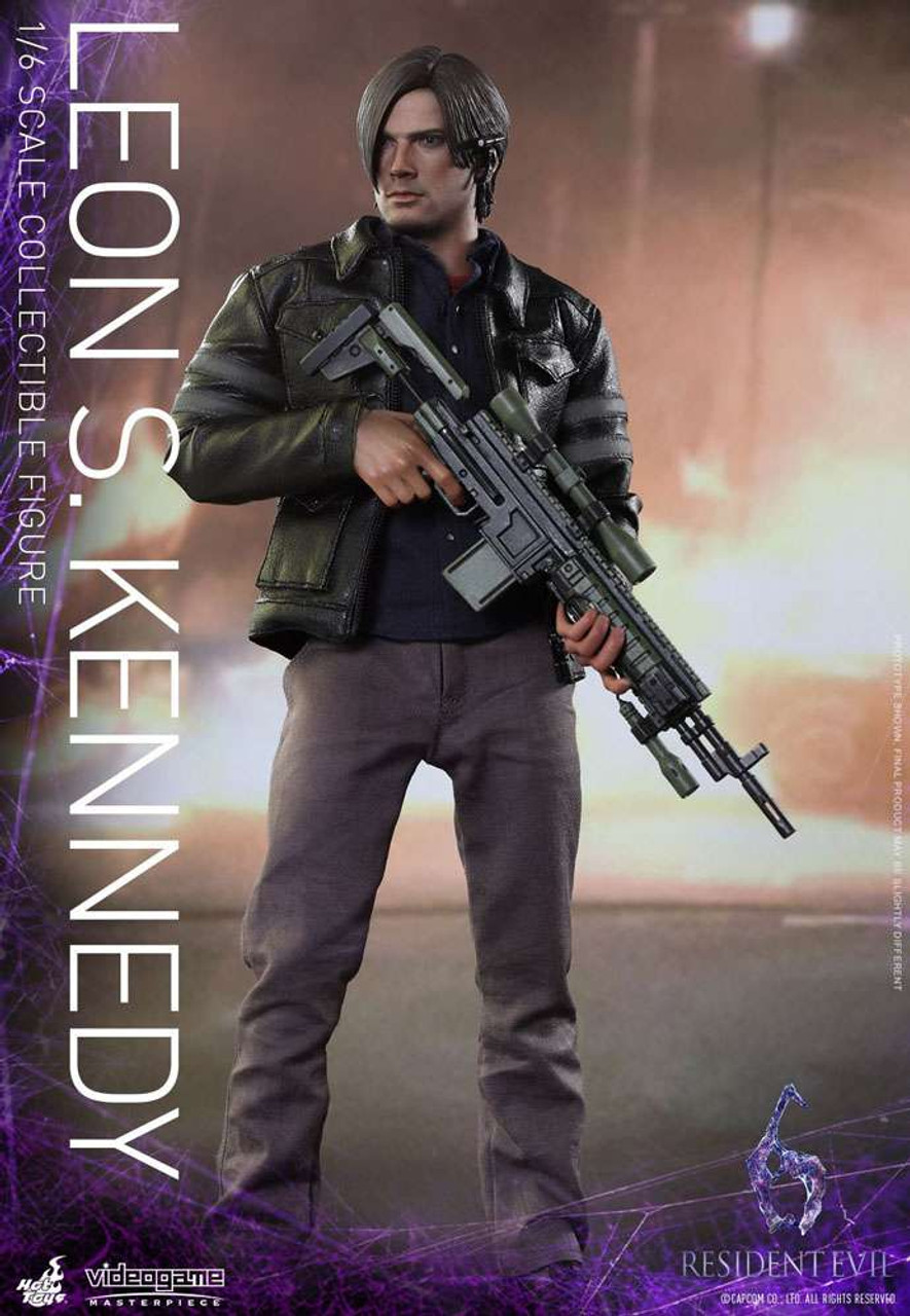 Resident Evil 6 Video Game Masterpiece Leon S Kennedy 16