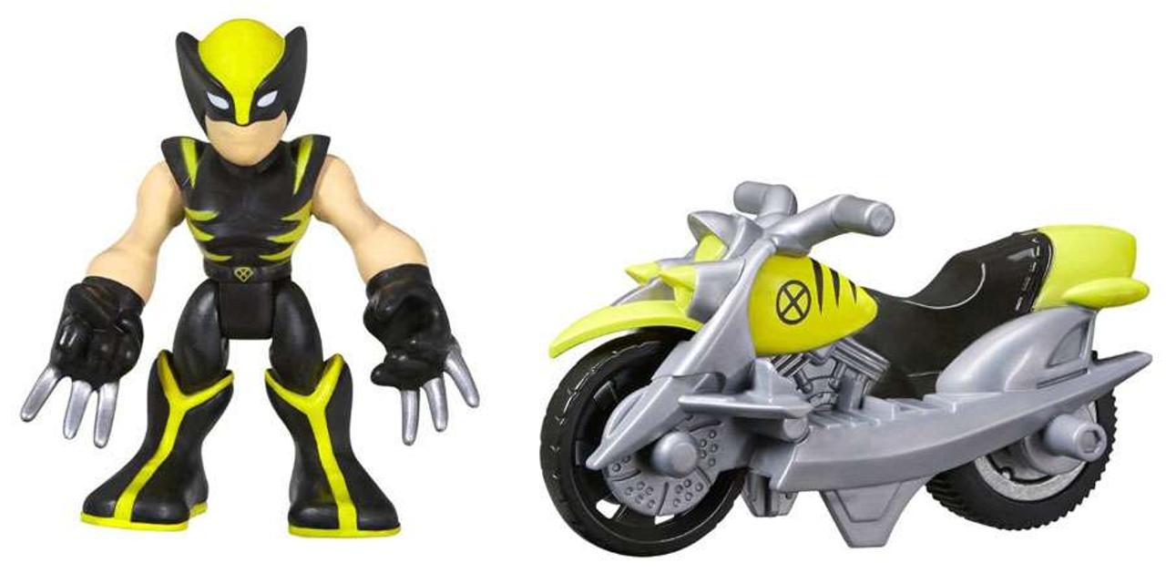 Marvel Playskool Heroes Super Hero Adventures Wolverine ...