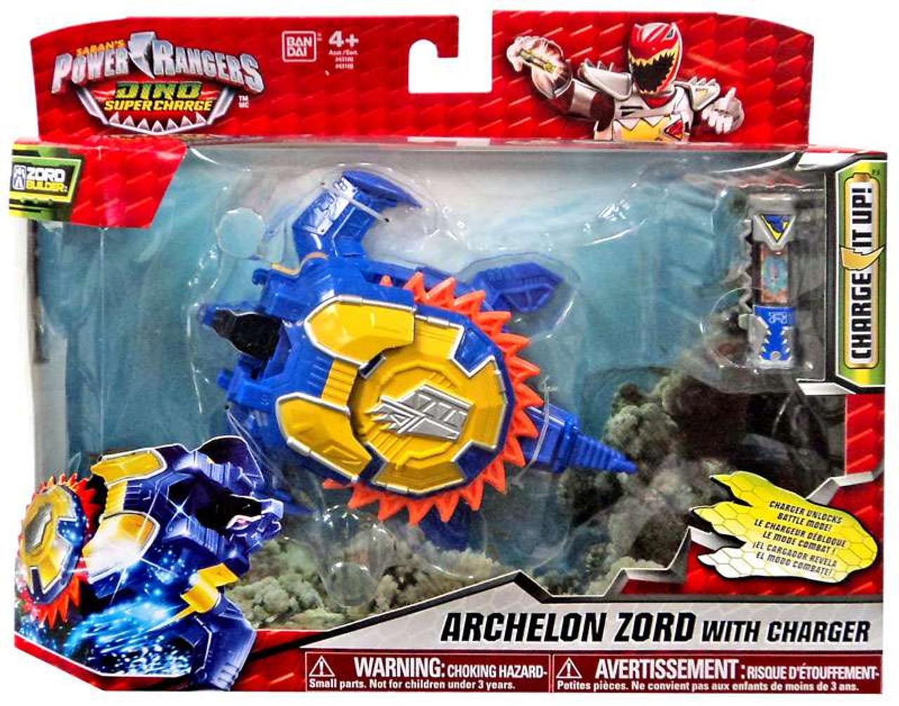 Power Rangers Dino Super Charge Archelon Zord 6 Action Figure Bandai America Toywiz