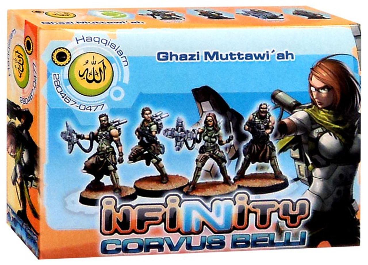 Infinity Haqqislam Tabletop Wargame Ghazi Muttawiah