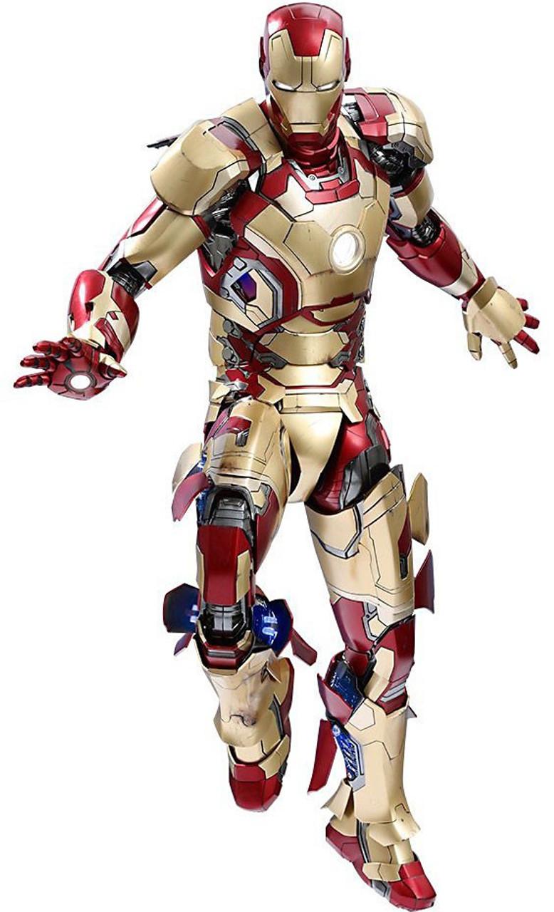 Iron Man 3 Iron Man 14 Collectible Figure Mark Xlii Hot Toys Toywiz