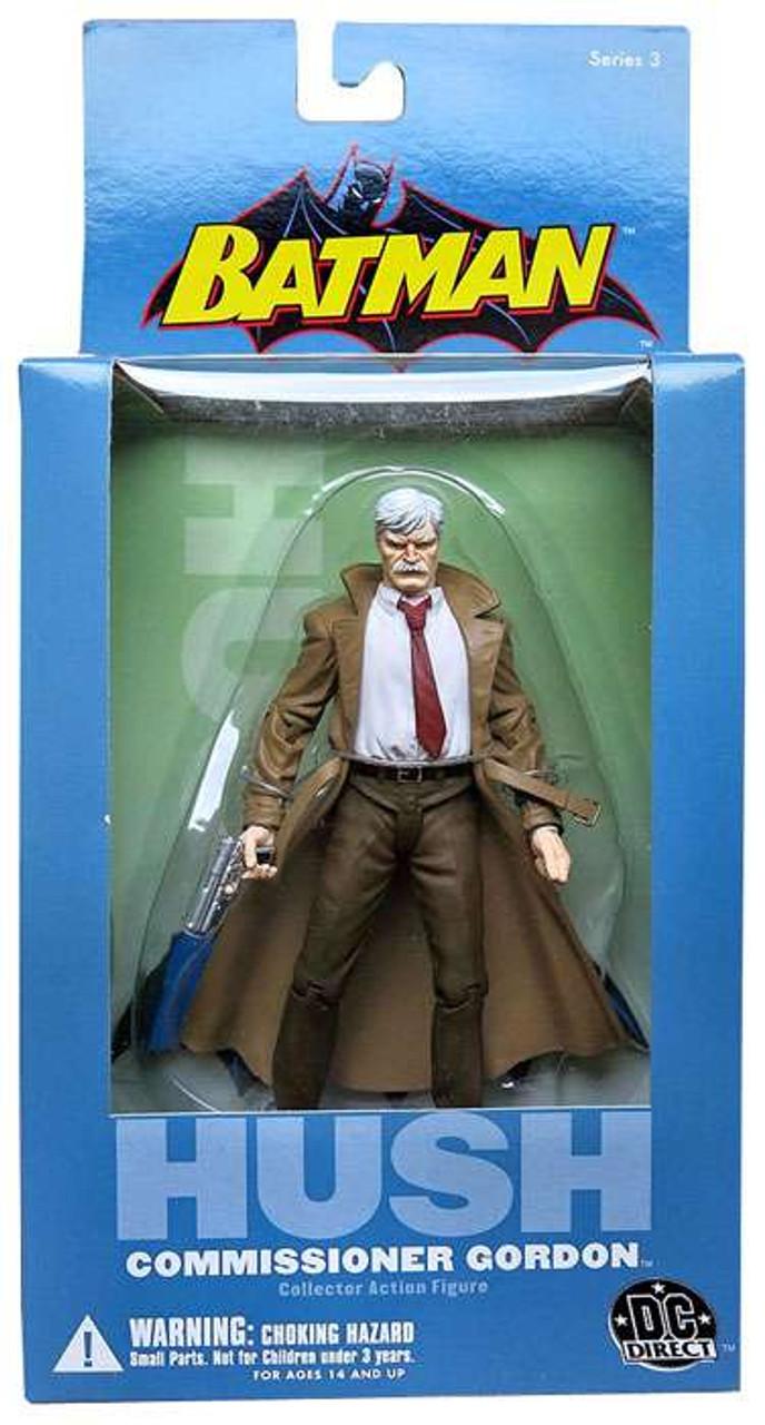 Batman Hush Series 3 Commissioner Gordon Action Figure Dc Direct Toywiz