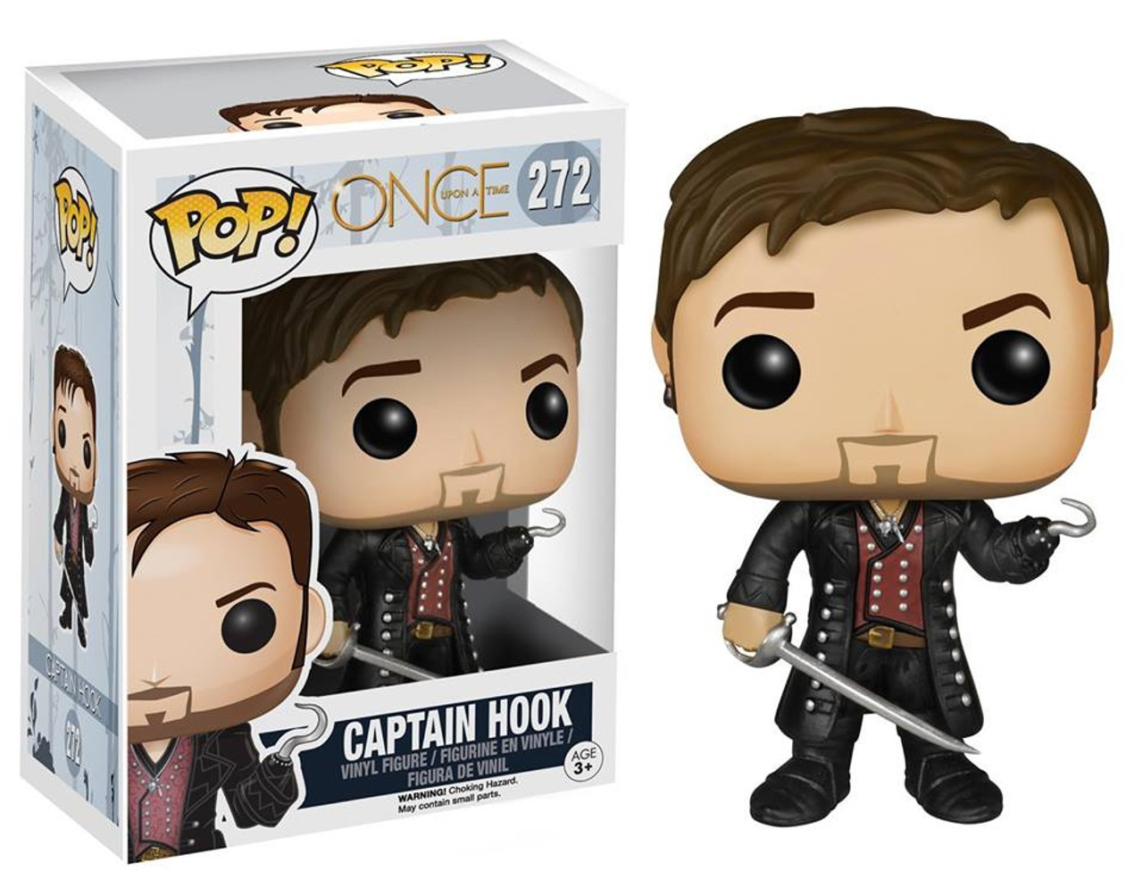 1b7673e5733 Funko Once Upon a Time Funko POP TV Captain Hook Vinyl Figure 272 - ToyWiz