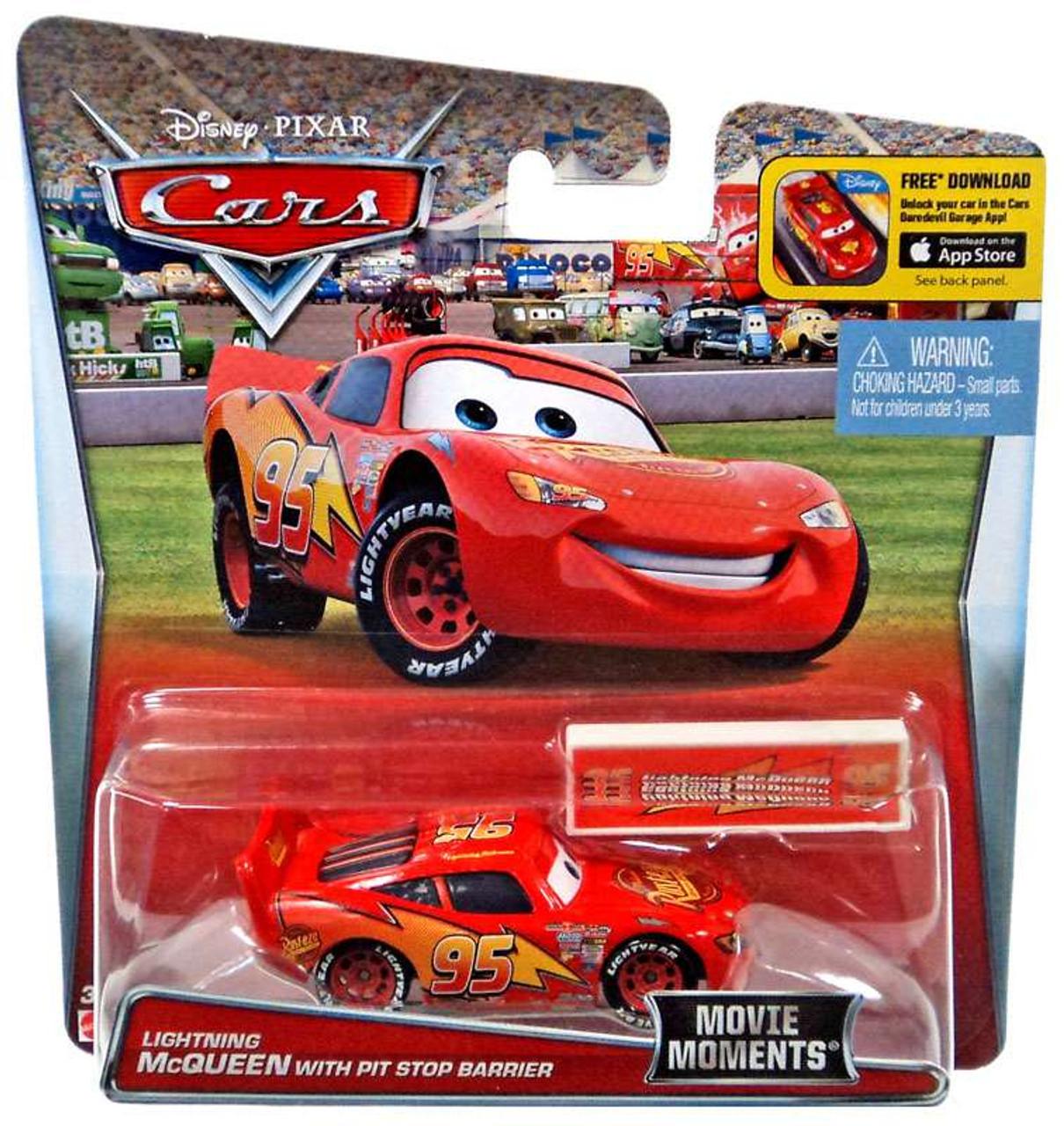 Disney Pixar Cars Movie Moments Lightning Mcqueen 155 Diecast Car