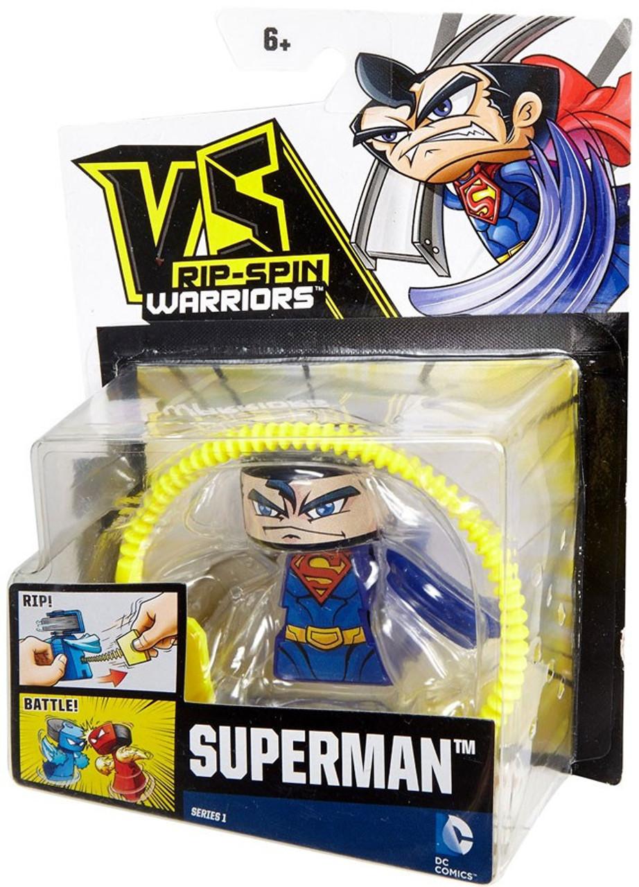 VS Rip-Spin Warriors DC Comics Superman Series 1