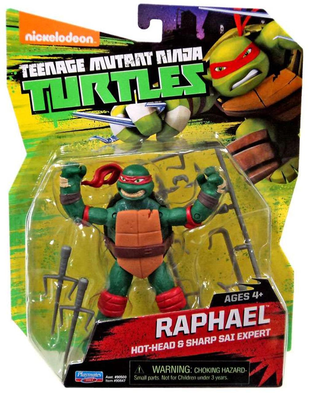 Teenage Mutant Ninja Turtles Movie Tmnt 5 Raphael Toy Action