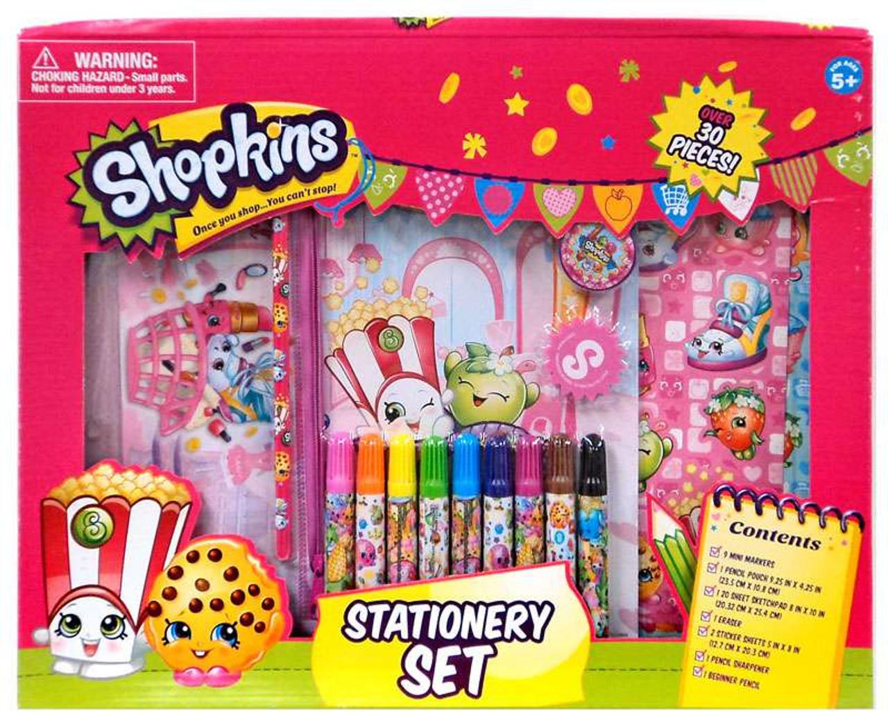 Shopkins Stationery Set