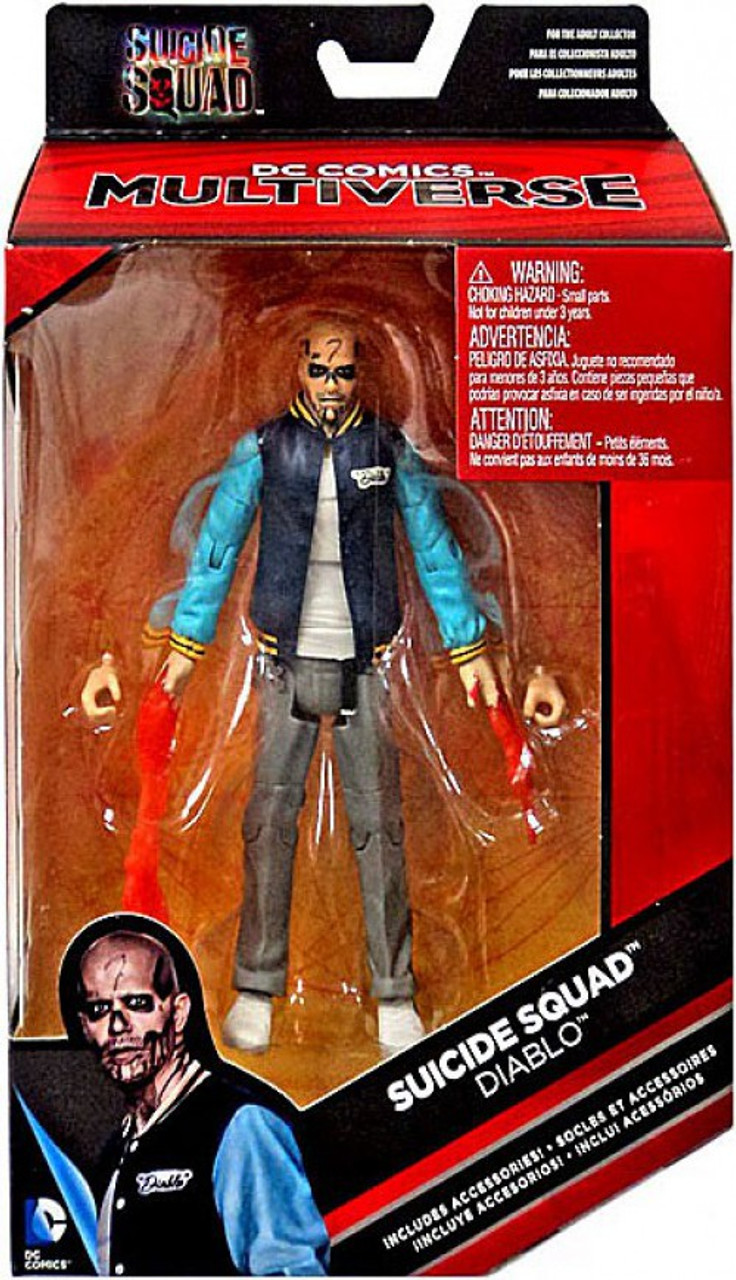DC Comics Multiverse DIABLO Action Figure Suicide Squad movie 6 inches NEW