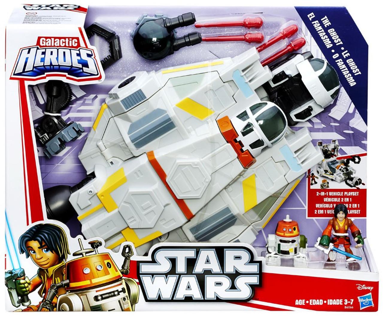 Star Wars Rebels Galactic Heroes The Ghost Vehicle Hasbro Toys Toywiz