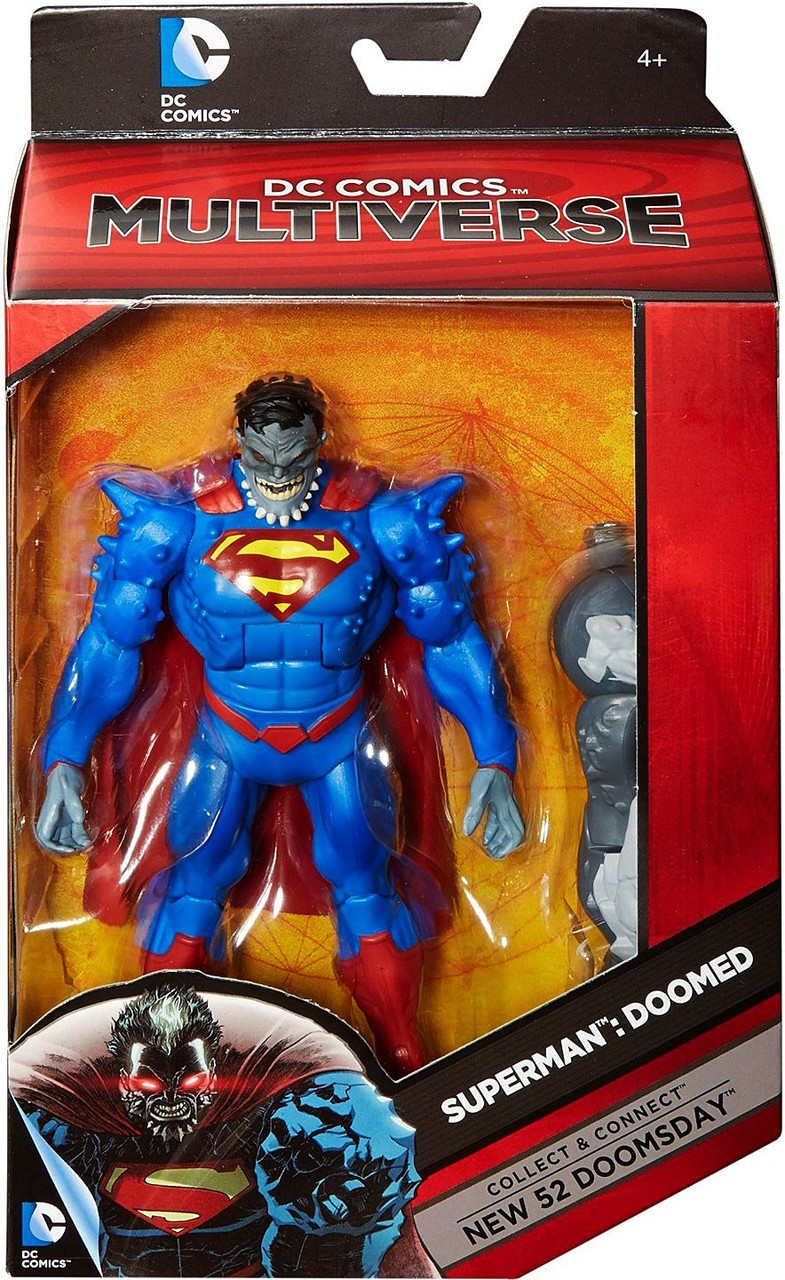 Dc Multiverse New 52 Doomsday Series Superman Doomed 6 Action