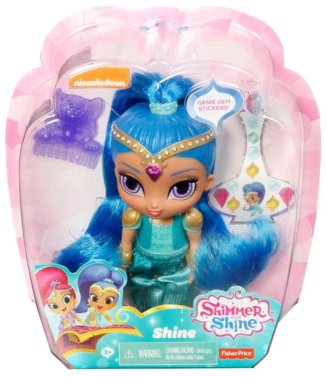 Fisher Price Shimmer & Shine Shine 6-Inch Basic Doll